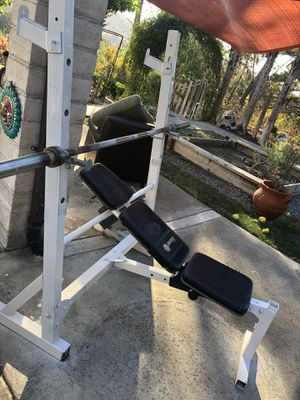 Marcy Weight Bench/Weight set for Sale in El Sobrante, CA
