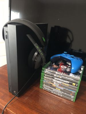 Xbox x 1 tb for Sale in Salt Lake City, UT