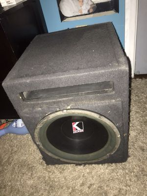 "12"" KICKER Subwoofer for Sale in El Cajon, CA"
