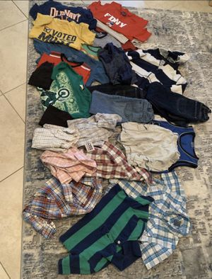 Boys kids clothes size 5/6/7 tops bottoms name brand old navy gap levys Calvin Klein for Sale in Orlando, FL