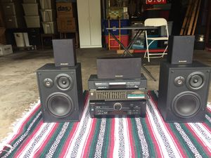 Surroundsound stereo system with all the wiring for Sale in MERRIONETT PK, IL