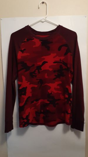 Polo Ralph Lauren Long Sleeve Red Camo Shirt for Sale in Toms River, NJ