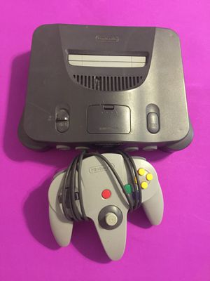 Nintendo 64 N64 with cords / controller for Sale for sale  Norfolk, VA