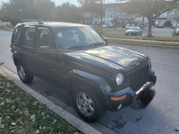 Jeep liberty 2003 limited edition 4x4 188,453 miles