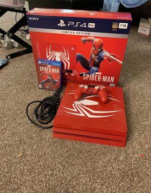 Spiderman Edition ps4 for Sale in Berwyn, IL