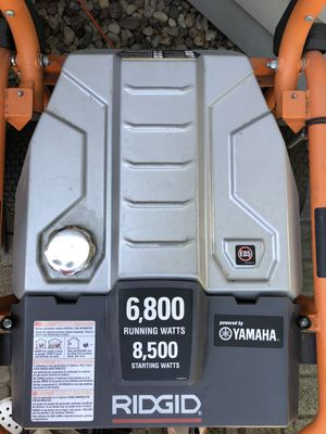 Rigid generator 8,500 watts with Yamaha engine for Sale in Naperville, IL