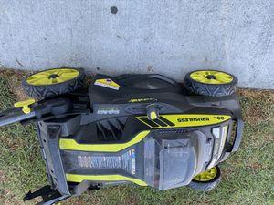 Ryobi self propel 40 V mower for Sale in Cerritos, CA