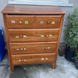 4 Drawer Dresser, Real Wood for Sale in Santa Ana,  CA