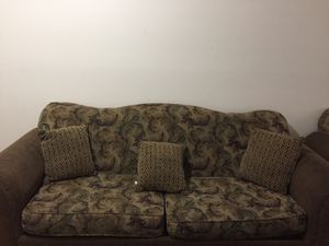 Love Seat and couch time for Sale in Greensboro, NC