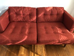 West Elm Loveseat for Sale in Raleigh, NC