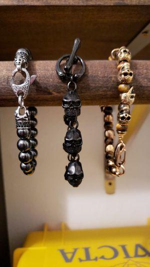 3 men's bracelets for Sale in Renton, WA