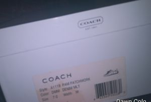 Coach shoes for Sale in Vestal, NY