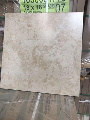 18x18 full pallet ceramic tile 350 sqf for Sale in Downey, CA