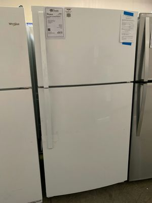 New Whirlpool White Top Freezer Refrigerator..1yr Manufacturers Warranty👆Paradise Appliance for Sale in Chandler, AZ