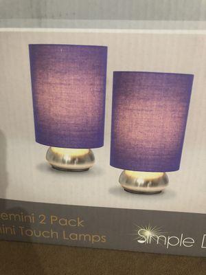 Mini touch lamps for Sale in Stockton, CA