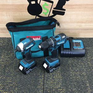 """Makita 18V BL Motor LXT XDT13 1/4"""" Impact XFD06 1/2"""" Drill Driver Kit Brand new for Sale in Saugus, MA"""