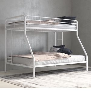 White Bunk Bed Full/twin for Sale in Chula Vista, CA