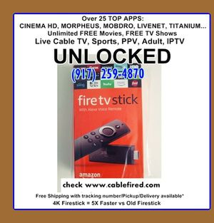 new Unlocked fire TV stick for Sale in New York, NY