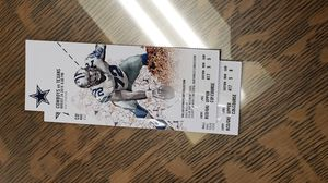 1 Pair of COWBOYS v TEXANS Tickets 4 SALE for Sale in Arlington, TX