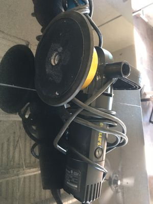 Meguiars DA, cyclo dual head DA, rotary polisher, tornador and light for Sale in Apache Junction, AZ