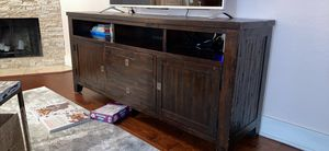 Wooden TV stand for Sale in Kirkland, WA