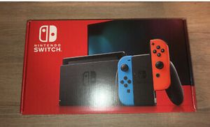 BRAND NEW - Nintendo Switch 32GB Console Neon Red & Blue for Sale in Detroit, MI