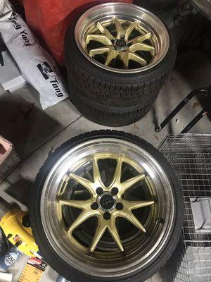 Ruff Racing 17 inch rims for Sale in Tampa, FL