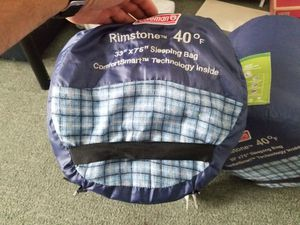 Coleman 40 degree sleeping bag for Sale in San Francisco, CA