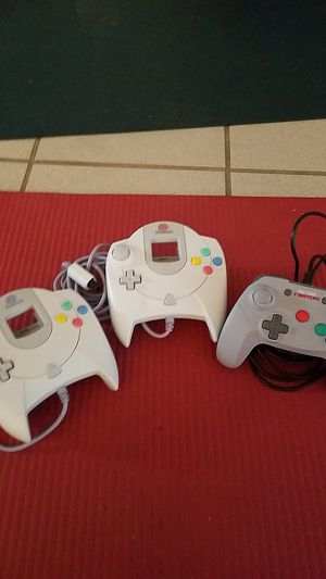 Video game controller bundle. N64 and Sega Dreamcast for Sale in Gulfport, MS