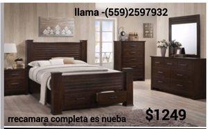 rrecamara Queen completa new for Sale in Fresno, CA