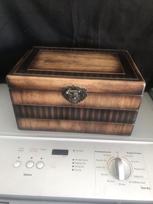 Wood Decorative Storage Box for Sale in Fontana, CA