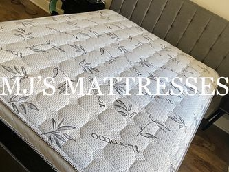 BAMBOO PILLOW TOP MATTRESS 💥 BEST PRICES ⭐️ SAME DAY DELIVERY 🚛 for Sale in Los Angeles,  CA