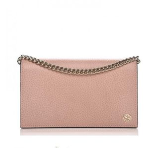 GUCCI 466506 Interlocking G Leather Crossbody Bag Wallet, Pink for Sale in Orange, CA