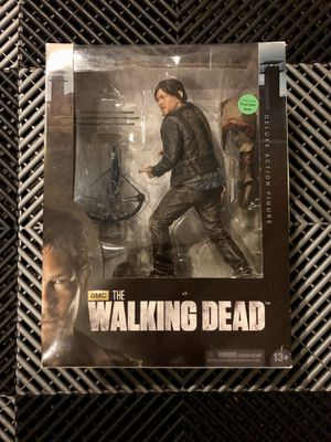 "McFarlane Toys The Walking Dead TV Daryl Dixon 10"" Deluxe Action Figure (NEW IN BOX) for Sale in La Puente, CA"
