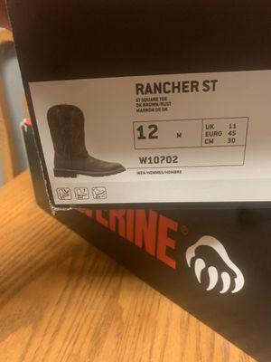 Steel toe work boot for Sale in Marysville, WA