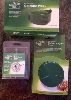 Big Green Egg accessory lot FACTORY SEALED NEW for Sale in Frederick, MD