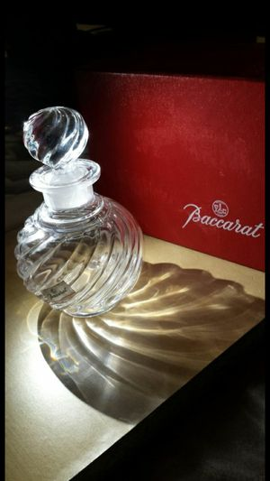 Vintage Baccarat Crystal Perfume Bottle w/ Box for Sale in Fairfax, VA