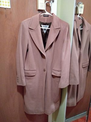 Long wool coat tan color for Sale in Oak Park, IL
