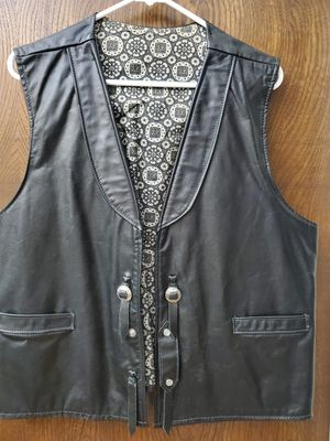 MotorCycle Leather Vest for Sale in Sunnyvale, CA