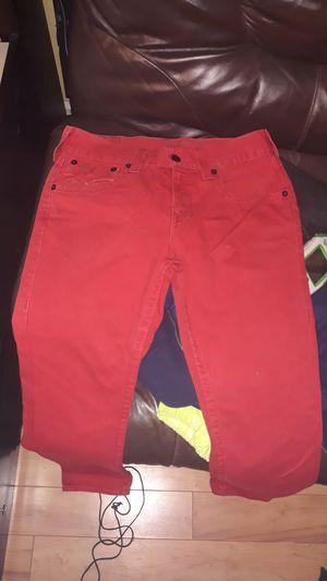 true religion red skinny jeans for Sale in Dallas, TX
