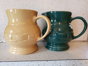 Longaberger Pottery pitchers for Sale in Alexandria, VA