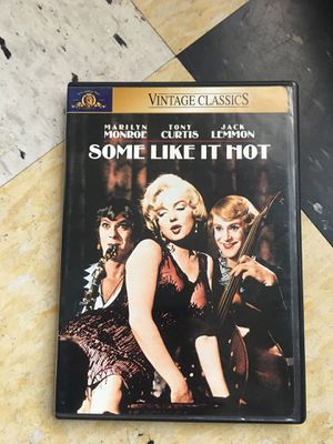 Some Like it Hot DVD for Sale in Portland, OR