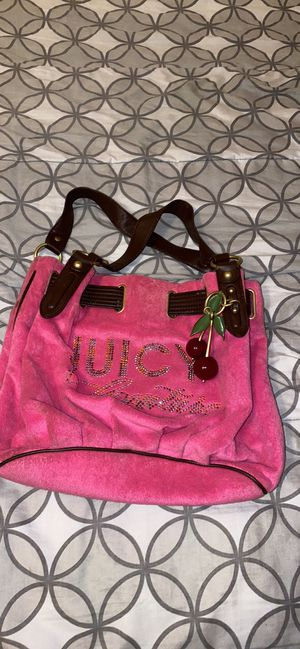 Juicy couture hand bag (couple of times used) for Sale in Laguna Niguel, CA