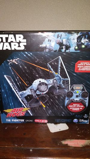 Star Wars Airhog Tie fighter drone! Collectible for Sale in Sacramento, CA