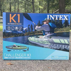 Intex Challenger K1 Inflatable Kayak for Sale in Social Circle, GA