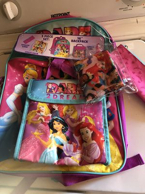 Girls princess backpack 🎒 for Sale in Los Angeles, CA