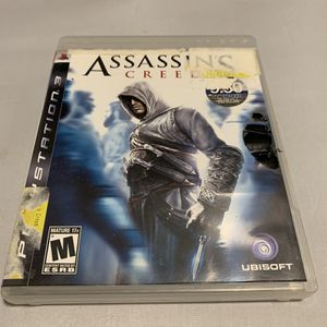 Assassin's Creed For PlayStation 3 PS3 Complete CIB Video Game for Sale in Camp Hill, PA