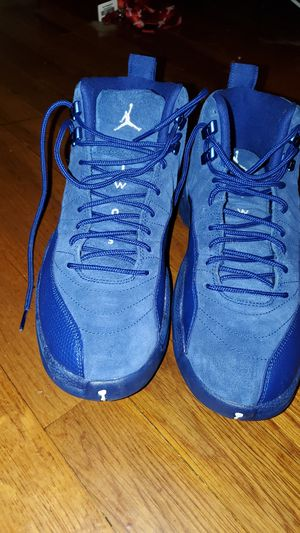 Jordan 12s Blue Suedes for Sale in Lakewood Township, NJ
