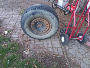 17in. Tire on 6 lug GM rim for Sale in Pasco, WA