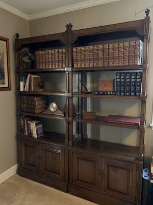 Ethan Allen solid wood bookshelves for Sale in Winston-Salem, NC